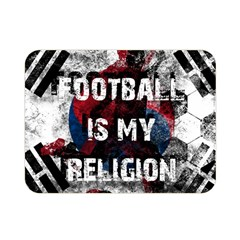 Football Is My Religion Double Sided Flano Blanket (mini)