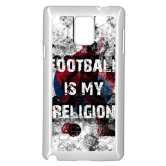 Football Is My Religion Samsung Galaxy Note 4 Case (white)
