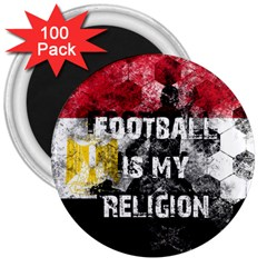 Football Is My Religion 3  Magnets (100 Pack) by Valentinaart