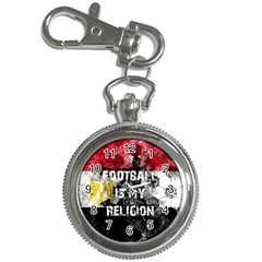 Football Is My Religion Key Chain Watches by Valentinaart
