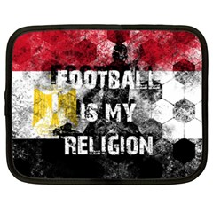 Football Is My Religion Netbook Case (xxl)