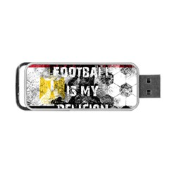 Football Is My Religion Portable Usb Flash (two Sides) by Valentinaart