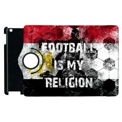 Football Is My Religion Apple Ipad 3/4 Flip 360 Case