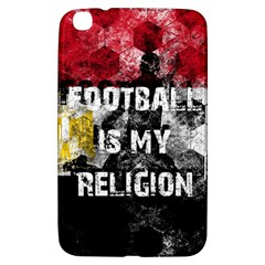 Football Is My Religion Samsung Galaxy Tab 3 (8 ) T3100 Hardshell Case  by Valentinaart