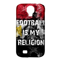 Football Is My Religion Samsung Galaxy S4 Classic Hardshell Case (pc+silicone) by Valentinaart
