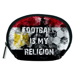 Football Is My Religion Accessory Pouches (medium)  by Valentinaart