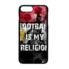 Football Is My Religion Apple Iphone 7 Plus Seamless Case (black) by Valentinaart