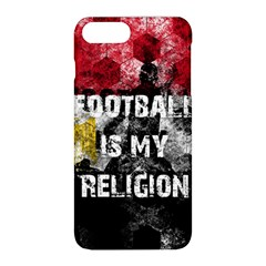 Football Is My Religion Apple Iphone 8 Plus Hardshell Case by Valentinaart