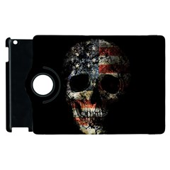 Skull Apple Ipad 2 Flip 360 Case