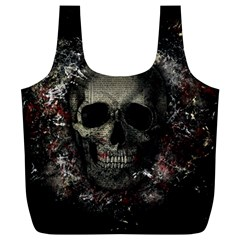 Skull Full Print Recycle Bags (l)
