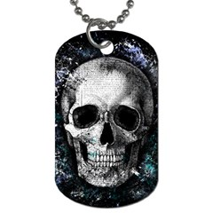 Skull Dog Tag (two Sides)