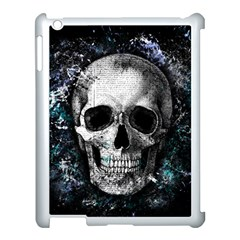 Skull Apple Ipad 3/4 Case (white)