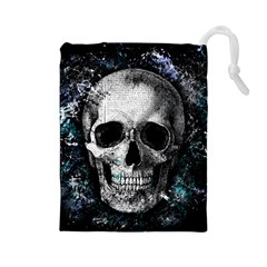 Skull Drawstring Pouches (large)