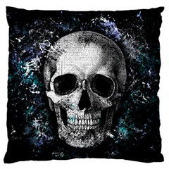 Skull Standard Flano Cushion Case (two Sides)