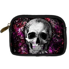 Skull Digital Camera Cases by Valentinaart
