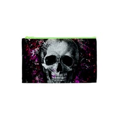 Skull Cosmetic Bag (xs) by Valentinaart