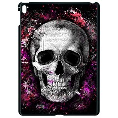 Skull Apple Ipad Pro 9 7   Black Seamless Case by Valentinaart