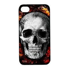 Skull Apple Iphone 4/4s Hardshell Case With Stand by Valentinaart