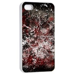 Grunge Pattern Apple Iphone 4/4s Seamless Case (white)