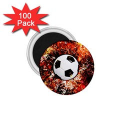 Football  1 75  Magnets (100 Pack)