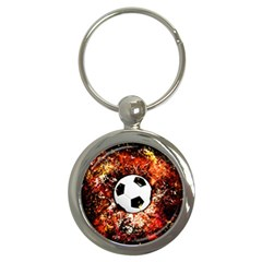 Football  Key Chains (round)  by Valentinaart