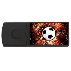 Football  Rectangular Usb Flash Drive