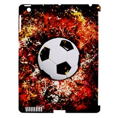 Football  Apple Ipad 3/4 Hardshell Case (compatible With Smart Cover) by Valentinaart