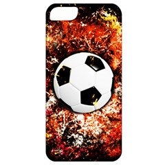 Football  Apple Iphone 5 Classic Hardshell Case by Valentinaart