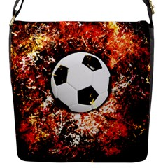 Football  Flap Messenger Bag (s) by Valentinaart