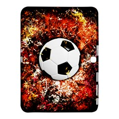 Football  Samsung Galaxy Tab 4 (10 1 ) Hardshell Case  by Valentinaart