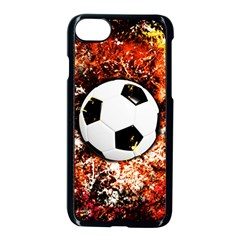 Football  Apple Iphone 8 Seamless Case (black) by Valentinaart