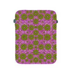 Paradise Flowers In Bohemic Floral Style Apple Ipad 2/3/4 Protective Soft Cases by pepitasart
