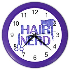 Hairstylist Gift Wall Clock by MySunshineDesigns