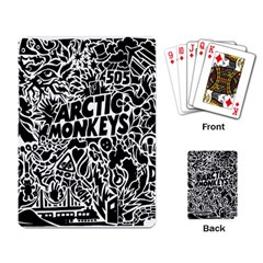 Arctic Monkeys Cool Playing Card by Samandel