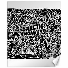 Arctic Monkeys Cool Canvas 11  X 14