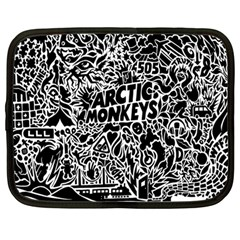 Arctic Monkeys Cool Netbook Case (large) by Samandel