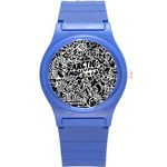 Arctic Monkeys Cool Round Plastic Sport Watch (S) Front