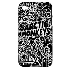 Arctic Monkeys Cool Apple Iphone 4/4s Hardshell Case (pc+silicone) by Samandel