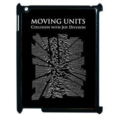 Moving Units Collision With Joy Division Apple Ipad 2 Case (black) by Samandel