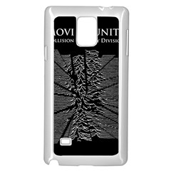 Moving Units Collision With Joy Division Samsung Galaxy Note 4 Case (white)