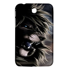 Angry Male Lion Digital Art Samsung Galaxy Tab 3 (7 ) P3200 Hardshell Case