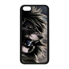 Angry Male Lion Digital Art Apple Iphone 5c Seamless Case (black)