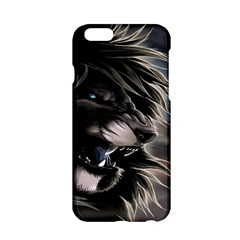 Angry Male Lion Digital Art Apple Iphone 6/6s Hardshell Case by Samandel