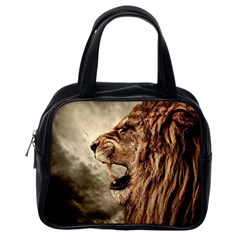Roaring Lion Classic Handbags (one Side)