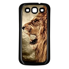 Roaring Lion Samsung Galaxy S3 Back Case (black)