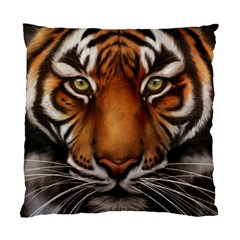 The Tiger Face Standard Cushion Case (two Sides) by Samandel