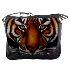 The Tiger Face Messenger Bags