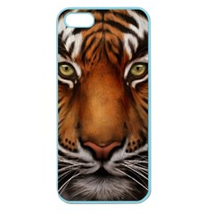 The Tiger Face Apple Seamless Iphone 5 Case (color)