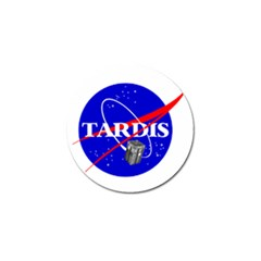 Tardis Nasa Parody Golf Ball Marker by Samandel