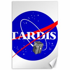 Tardis Nasa Parody Canvas 20  X 30   by Samandel